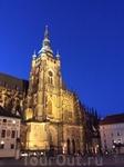 Первая церковь, построенная на этом месте, тоже была посвящена Св.Виту. Это  была ротондой в раннем романском стиле, основанная богемским воеводой Вацлавом ...