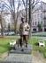 Памятник основателю театра им.Франко Гнату Юре в роли Швейка. Памятник был открыт в мае 2011 года.
