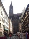 Кафедральный собор в Страсбурге.