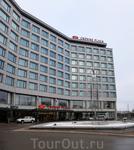Crowne Plaza - наш отель.