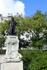 Памятник Гойе у входа в музей Прадо.