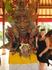 Рисовая скульптура