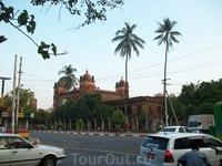 один из храом Янгона