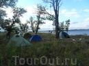 часть лагеря в 6 30