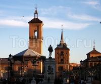 Университет и историческая часть города Алькала-де-Энарес