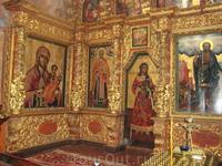 Фрагмент иконостаса Троицкого собора.
