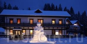 Велика-дед-мороз у гостиницы