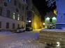 А еще вчера в Таллине не было снега. Весь он выпал именно в день нашего приезда!
