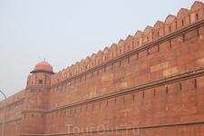 стены red fort