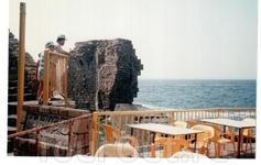 Акко. Средиземное море.