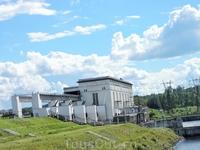 Здание ГЭС