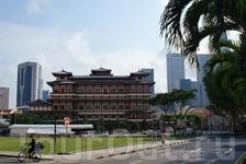 Китайский храм, на 4-м этаже - музей