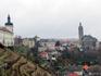 Вид на город с террасы у собора.