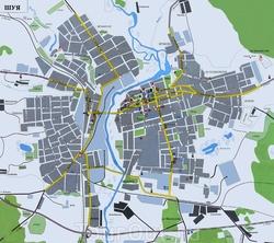 Карта Шуи