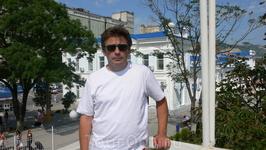 На вокзале в Новороссийске.