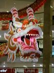 торговый центр в Куала-Лумпуре готов к встрече китайского нового года