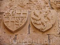 Внутренние стены крепости