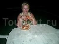 Ужин из пойманых крабов!