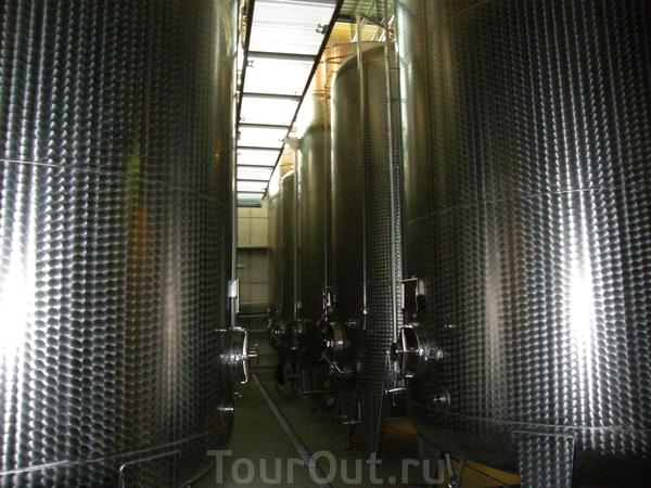 На производстве вина
