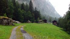 около деревушки Herbriggen, Швейцария