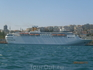 Океанский лайнер в Босфоре.