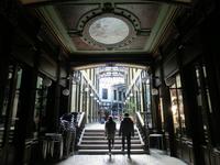 Старинная торговая галерея, построенная в 1886 году, El Pasaje Gutiérrez.