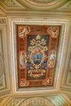Плафон-фреска с гербом Ватикакна.