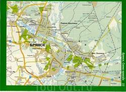 Автомобильная карта города Брянск