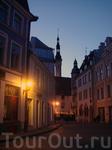 вечерние улочки Старого Таллина