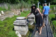 На раскопках святилища Изиды