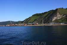 по дороге к порту Байкал