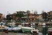 """Один из каналов Римини. Весь """"усыпан"""" лодками,катерами,яхтами и прочими плавсредствами."""