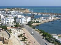 Панорама города из крепости....яхт клуб...
