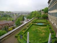 Небольшой садик в Берне