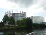 Комплекс зданий Европарламента....