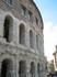 театр Марцелла - единственный древний театр, сохранившийся в Риме.