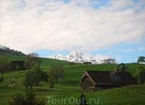 Поездка через перевал в кантон Тичино