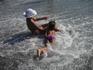 Пляж. Водные забавы