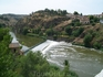 вид на берег реки Тахо