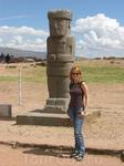идол древнего города