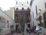 """На улице, которую я назвал """"малый Иерусалим"""" ; """"Подвешенная церковь""""; так названа потому, что ее две башни установлены на останках древнеримского храма ..."""