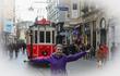 А вот и красный трамвайчик! для счастья фотография )