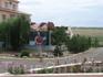 Шахматный городок в Элисте....НюВасюки нашего времени ....размах поражает на фоне безкрайних степей....