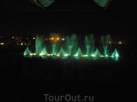 шоу танцующих фонтанов в Протарасе
