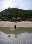 Вид на Винперл с пляжа