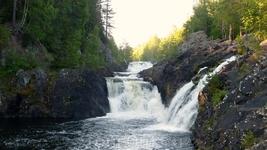 а это оба водопада