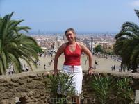 Поездка в Барселону - парк Гюэль - незабываемо...