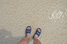 соль под ногами