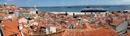 Общий вид старого центра Лиссабона