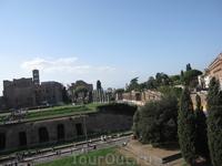 На Римских Форумах...